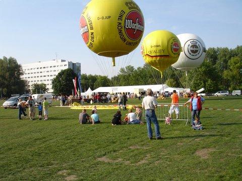 Gasballons in Zwolle...