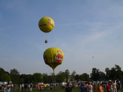 Mijn eerste gasballonvaart...