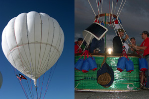 First Gas Balloon Record Attempt